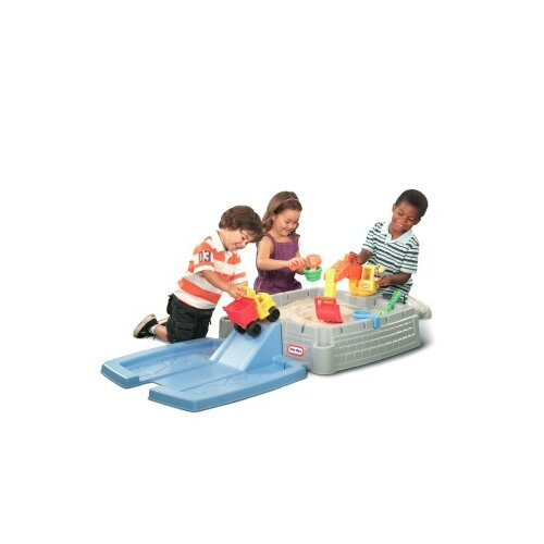 Little Tikes Big Digger 4' Rectangular Sandbox with Cover