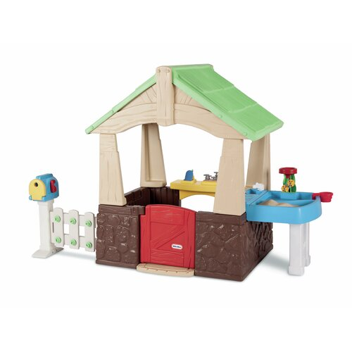 Little Tikes Deluxe Home And Garden Playhouse Reviews Wayfair