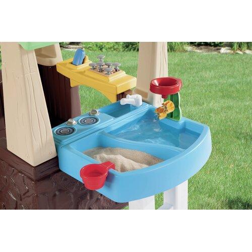 little tikes deluxe home and garden playhouse reviews wayfair