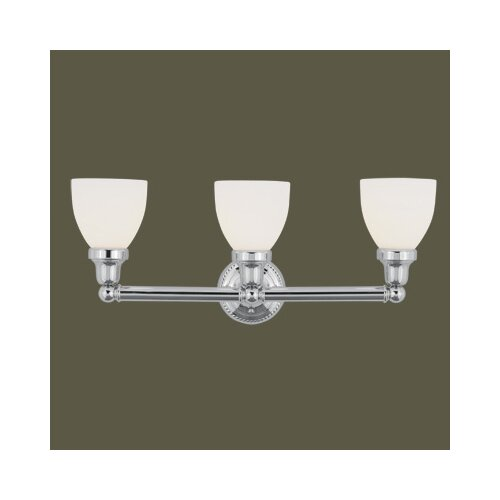 Livex Lighting Classic 3 Light Bath Vanity Light