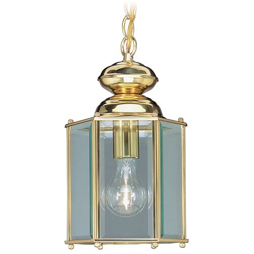 Livex Lighting Basics 1 Outdoor Light Hanging Lantern