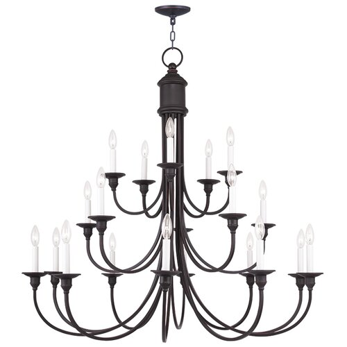 Cranford 18 Light Candle Chandelier