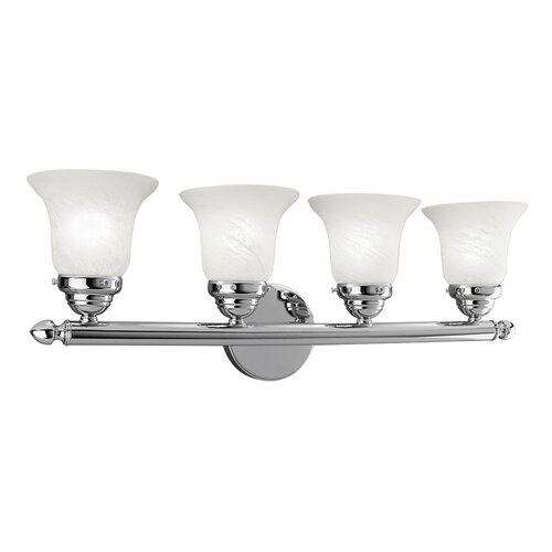 Livex Lighting 4 Light Vanity Light