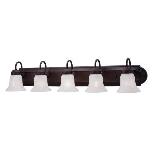 Livex Lighting Home Basics 5 Light Vanity Light