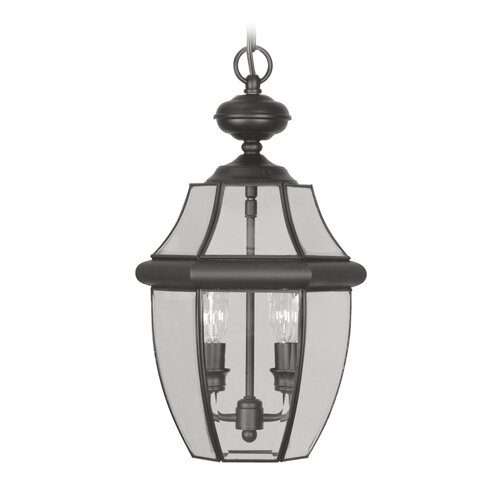 Livex Lighting Monterey 2 Light Outdoor Hanging Lantern