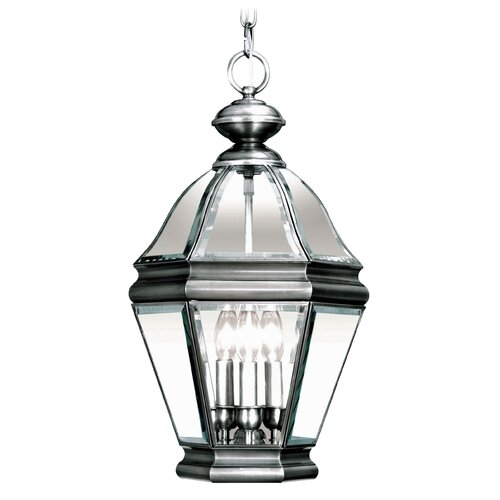 Livex Lighting Bradford 3 Light Outdoor Hanging Lantern