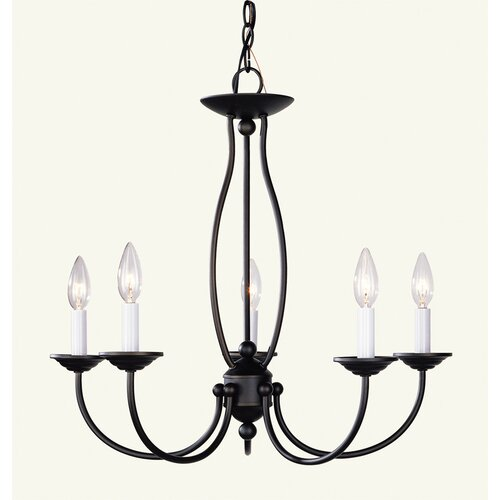 Livex Lighting 5 Light Chandelier