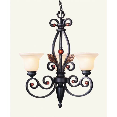 Livex Lighting Tuscany 3 Light Chandelier