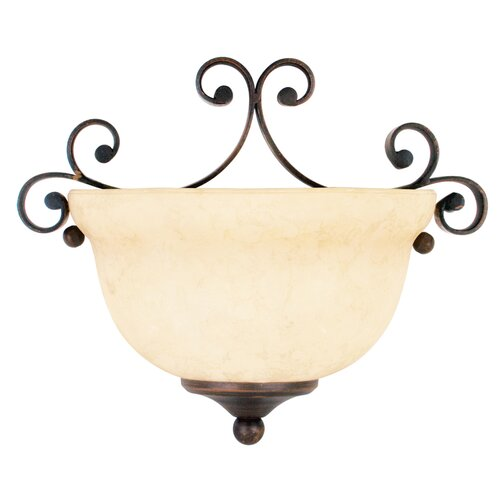 Livex Lighting Manchester 1 Light Wall Sconce