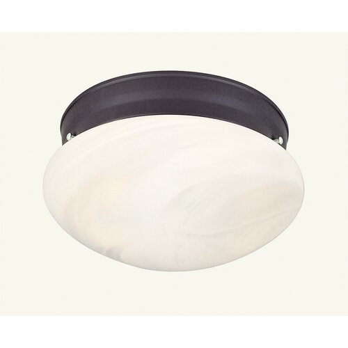 Livex Lighting 1 Light Flush Mount