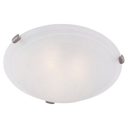 Livex Lighting Manchester Flush Mount in Imperial Bronze