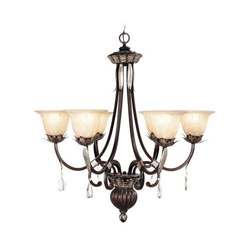 Livex Lighting Orleans 6 Light Chandelier