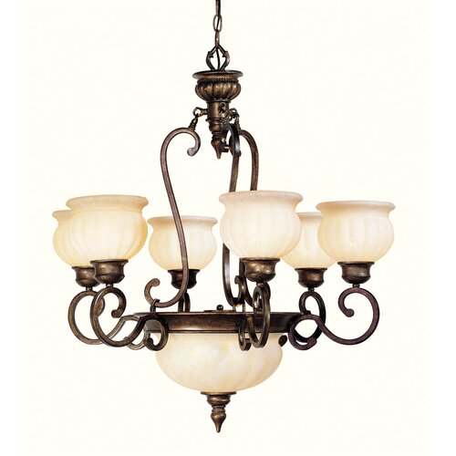 Livex Lighting Renaissance 8 Light Chandelier