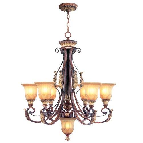 Livex Lighting Villa Verona 7 Light Chandelier
