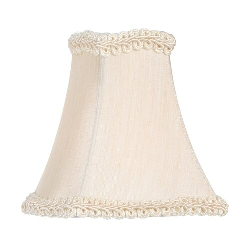 "Livex Lighting 4.5"" Silk Square Lamp Shade"