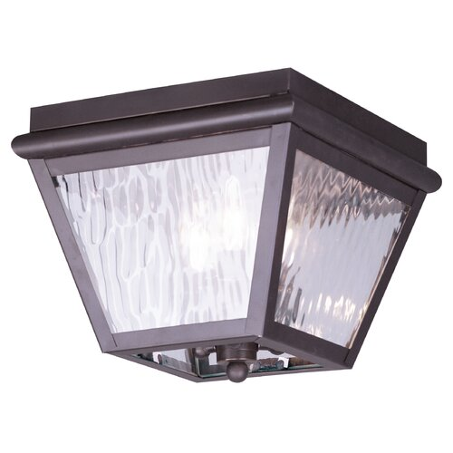Livex Lighting Cambridge Outdoor Flush Mount