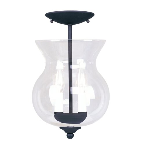 Livex Lighting Heritage Convertible 2 Light Foyer Pendant