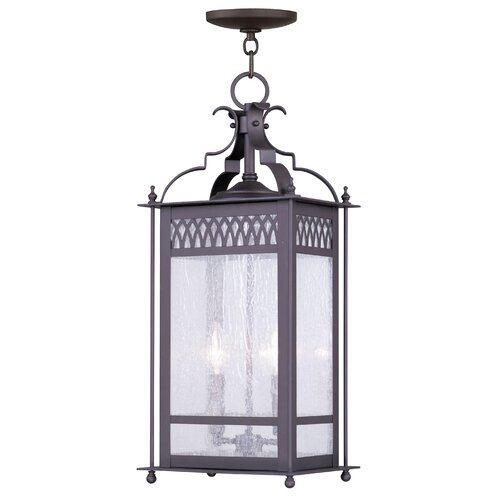 Livex Lighting Westfield 2 Light Outdoor Hanging Lantern