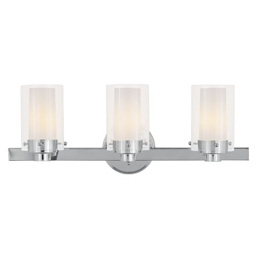 Livex Lighting Manhattan 3 Light Bath Vanity Light