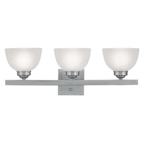 Livex Lighting Somerset 3 Light Bath Vanity Light