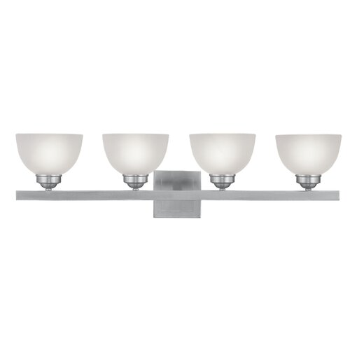 Livex Lighting Somerset 4 Light Bath Vanity Light