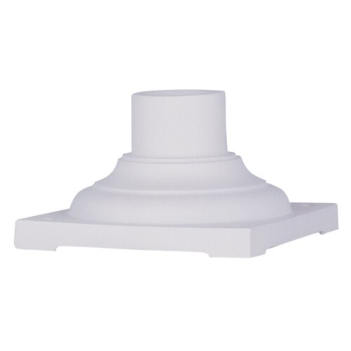 Livex Lighting Outdoor Pier Mount Adaptor