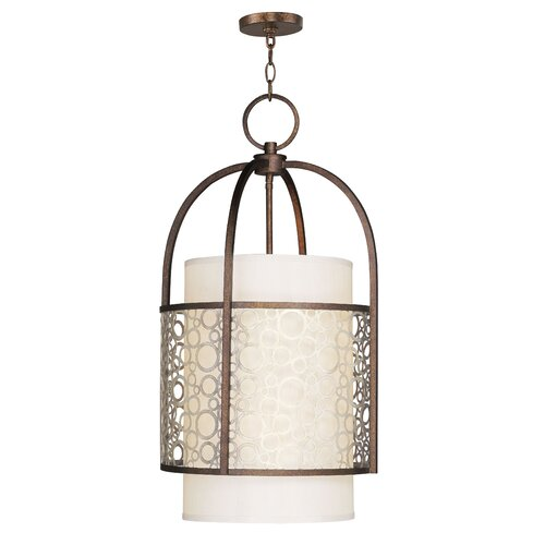 Livex Lighting Avalon 4 Light Foyer Pendant