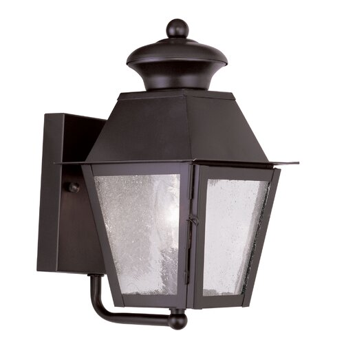 Livex Lighting Mansfield 1 Light Outdoor Wall Lighting