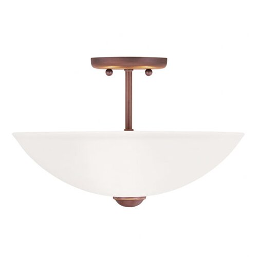 Livex Lighting Somerset Flush Mount