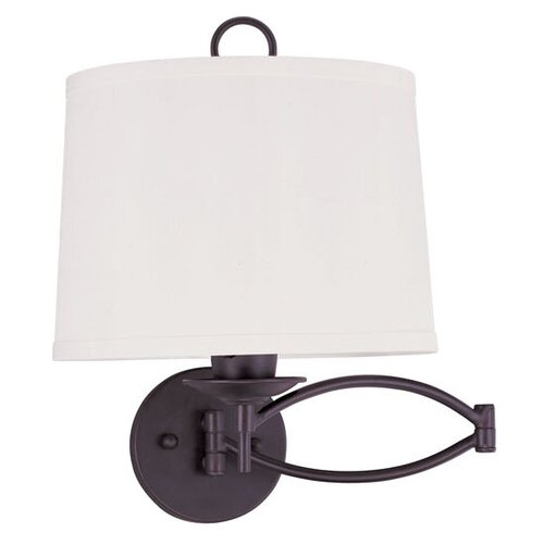 Livex Lighting Swing Arm Wall Sconce