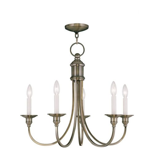 Livex Lighting Cranford 5 Light Chandelier