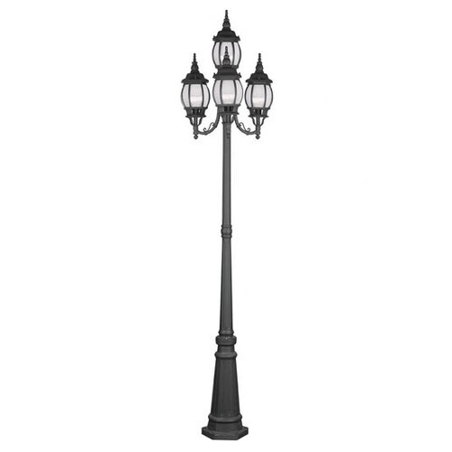 "Livex Lighting Frontenac 4 Light 93"" Outdoor Post Lantern Set"