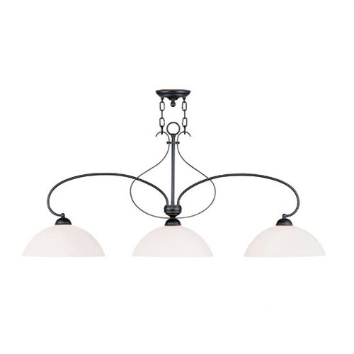 Livex Lighting Brookside 3 Light Kitchen Pendant Lighting
