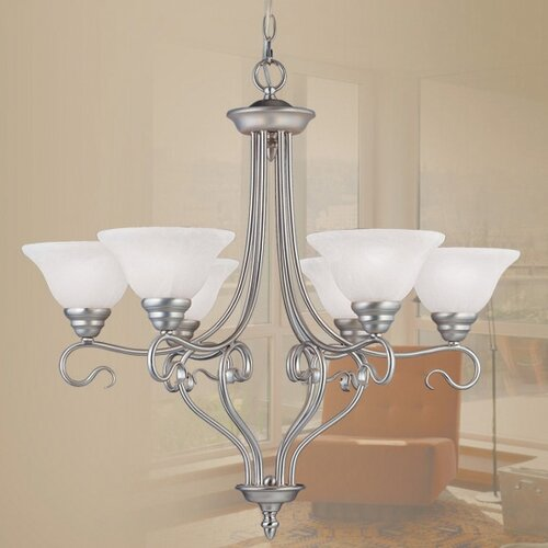 Livex Lighting Coronado 6 Light Chandelier