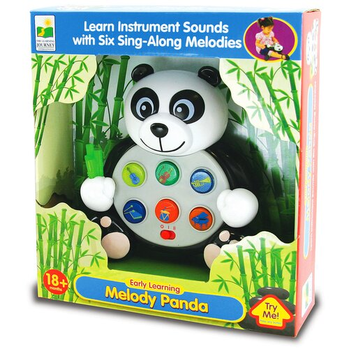 The Learning Journey Early Learning Animal Pals Melody Panda