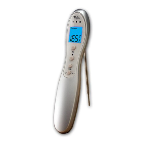 Taylor Connoisseur Digital Cooking Thermometer with Folding Probe