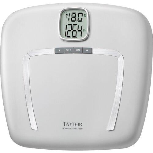 Body Fat Digital Bath Scale with White Platform