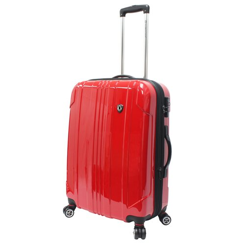 """Traveler's Choice Sedona 100% Pure Polycarbonate 25"""" Expandable Spinner Luggage"""