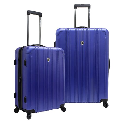 Traveler's Choice New Luxembourg 2 Piece Hardsided Expandable Luggage Set
