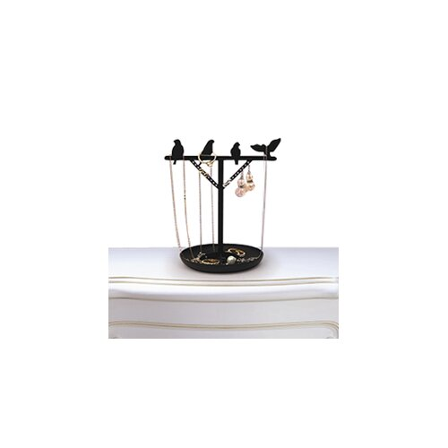 Kikkerland Bird Jewelry Stand