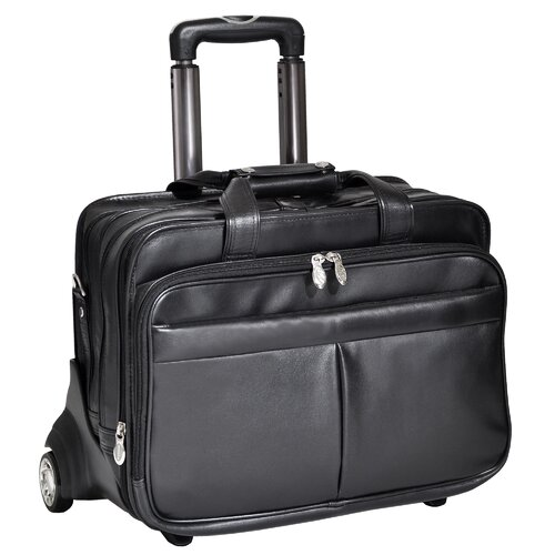 R Series Roosevelt Leather Laptop Catalog Case