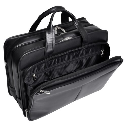McKlein USA R Series Walton Leather Laptop Briefcase