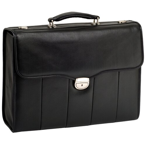 I Series North Park Executive Leather Laptop Briefcase