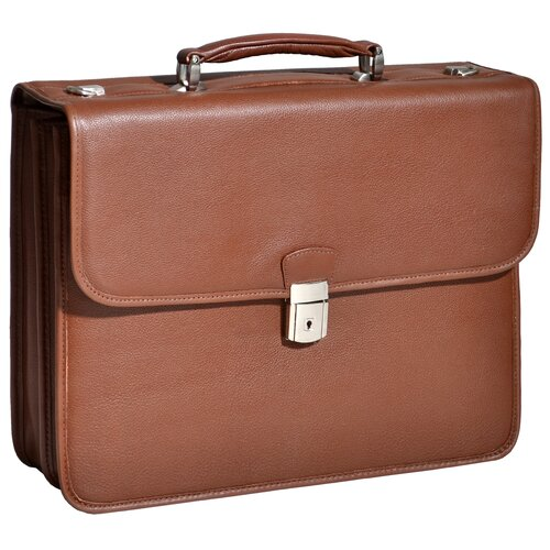S Series Ashburn Laptop Leather Briefcase