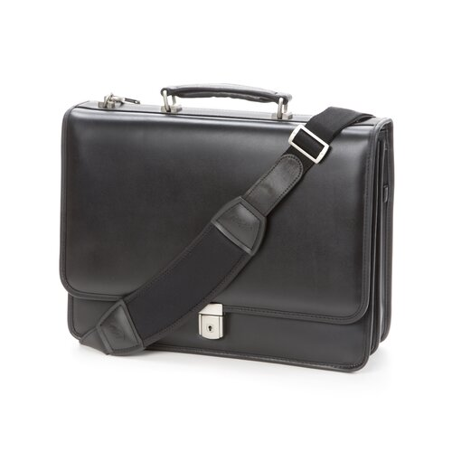 McKlein USA V Series Lexington Leather Laptop Briefcase