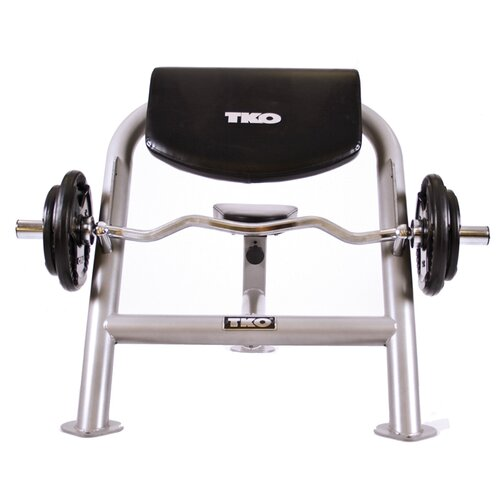 TKO Sports Commercial Curl Adjustable Olympic Bench