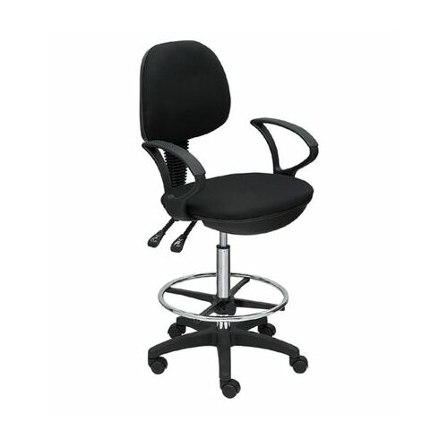 Martin Universal Design Height Adjustable Drafting Seating with Footring