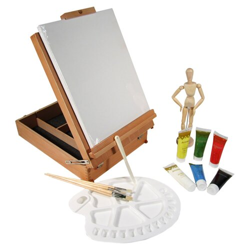 Martin Universal Design Mario's Deluxe Easel Box Oil Art Kit