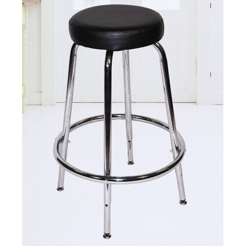 Martin Universal Design Height Adjustable Stool with Footring