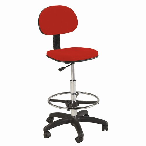 Martin Universal Design Height Adjustable Drafting Chair with Footring